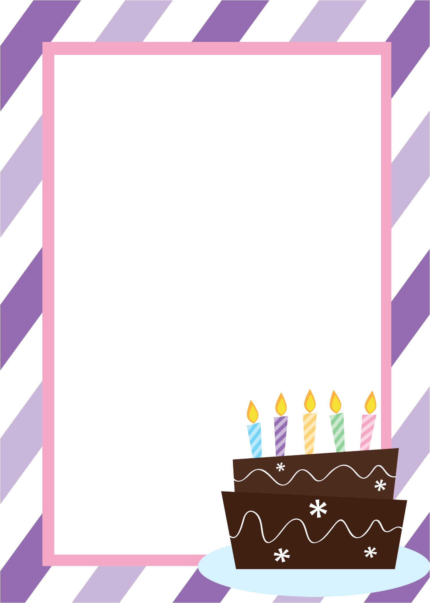 free printable birthday invitation templates