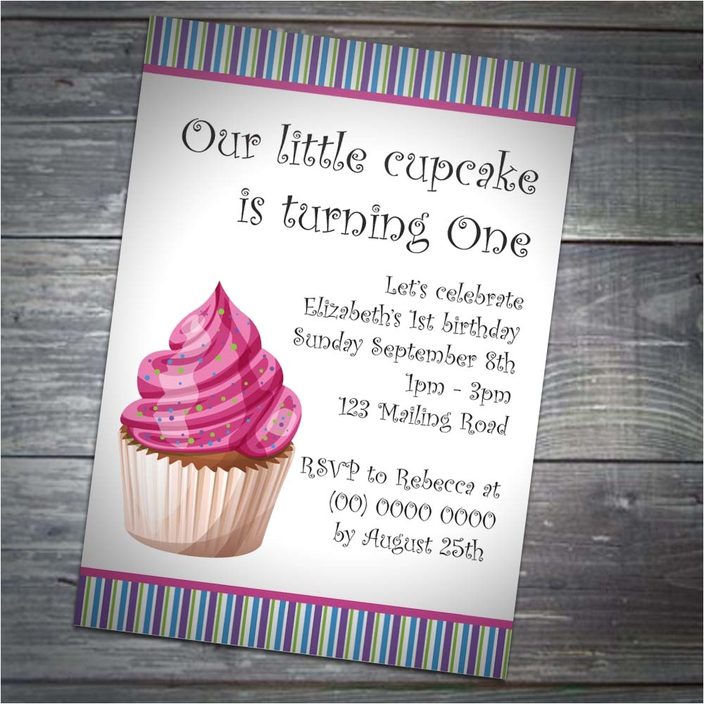 kids cupcake party