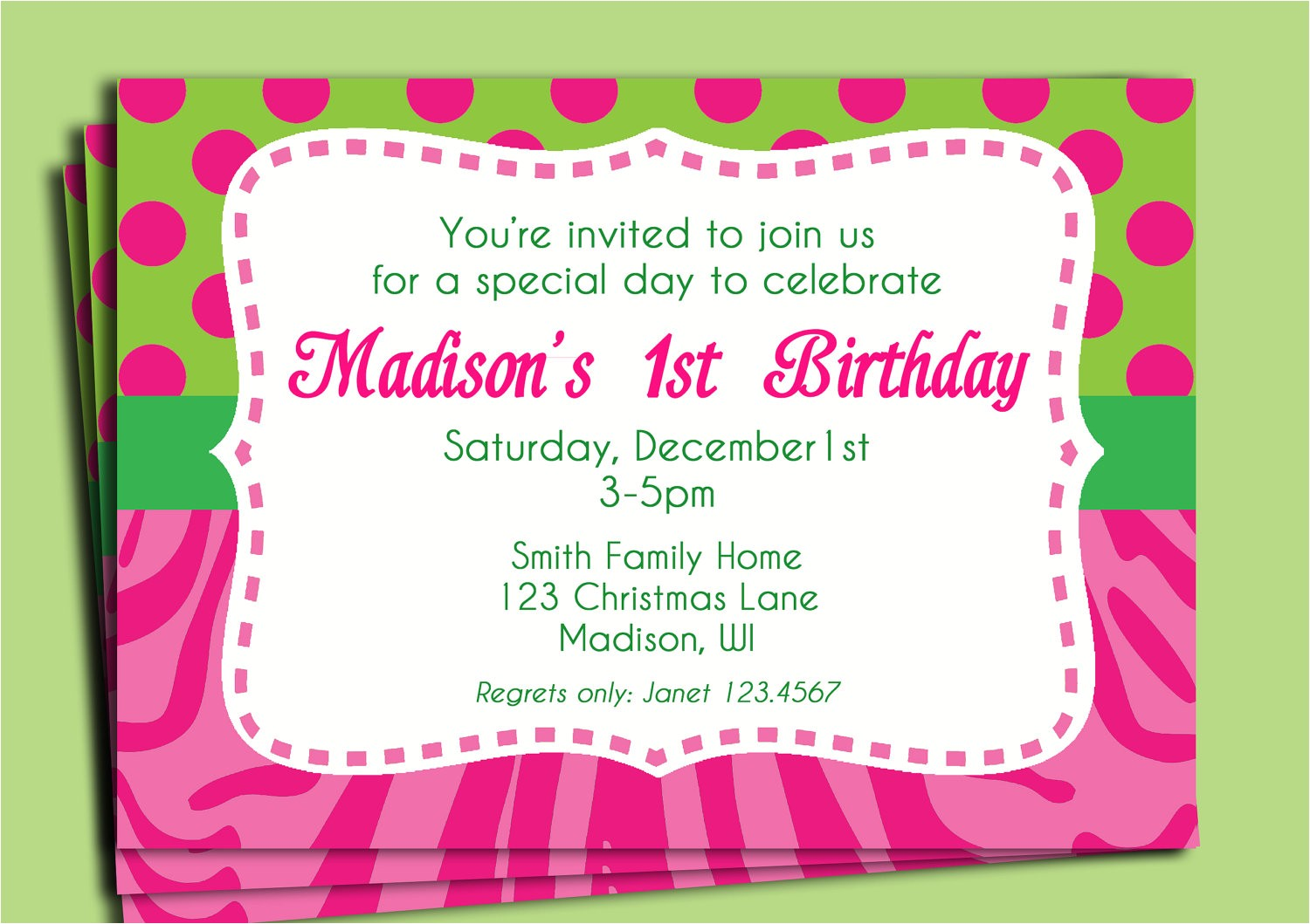 birthday invitation wording for 8 year old