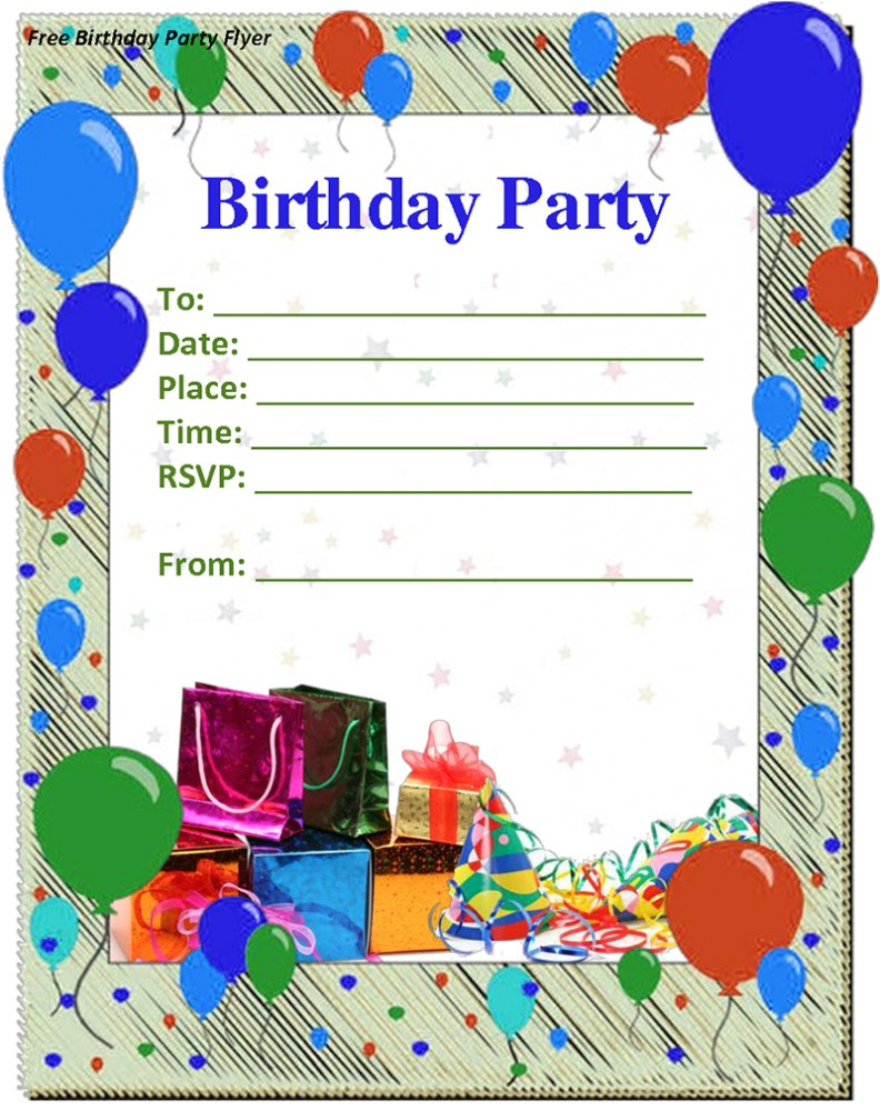 birthday invitation template word birthday invitation template 12 year old birthday party invitations