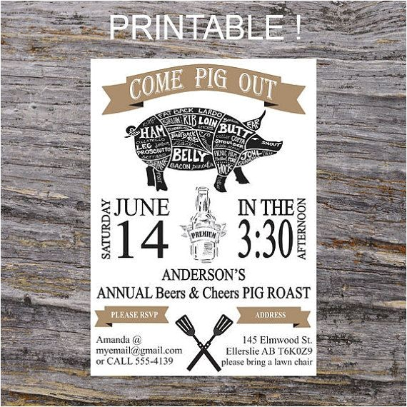 pig roast party