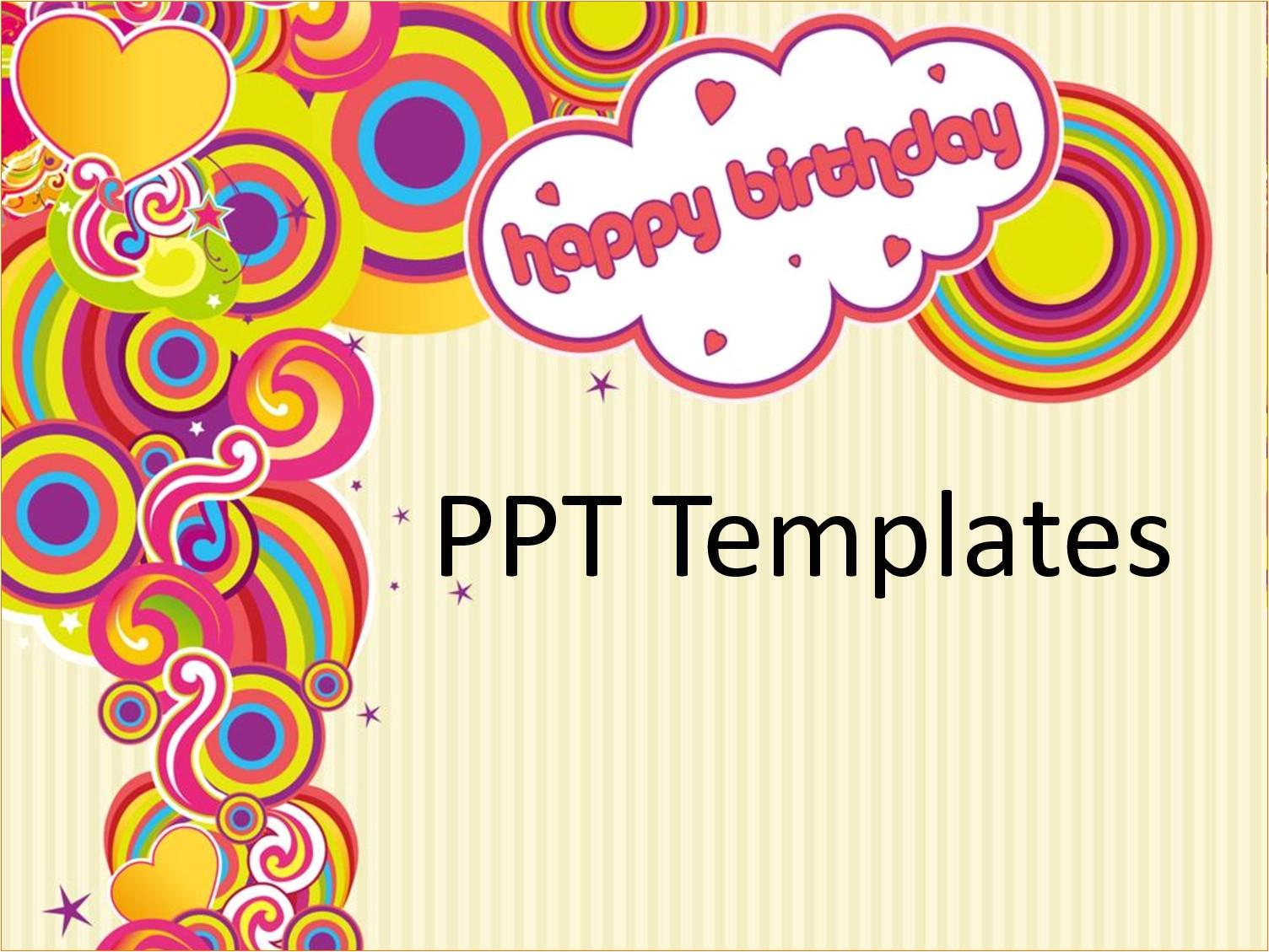 free birthday card templates