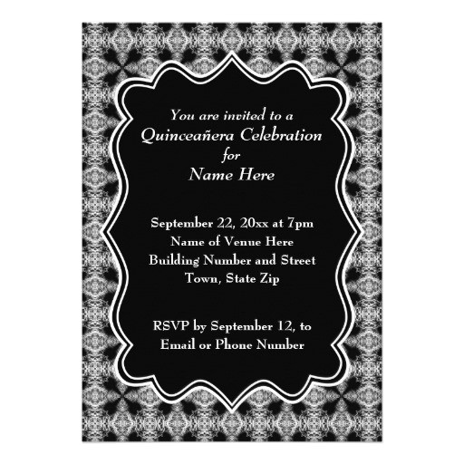 zquery keywords black 20and 20white 20quinceanera 20invitations