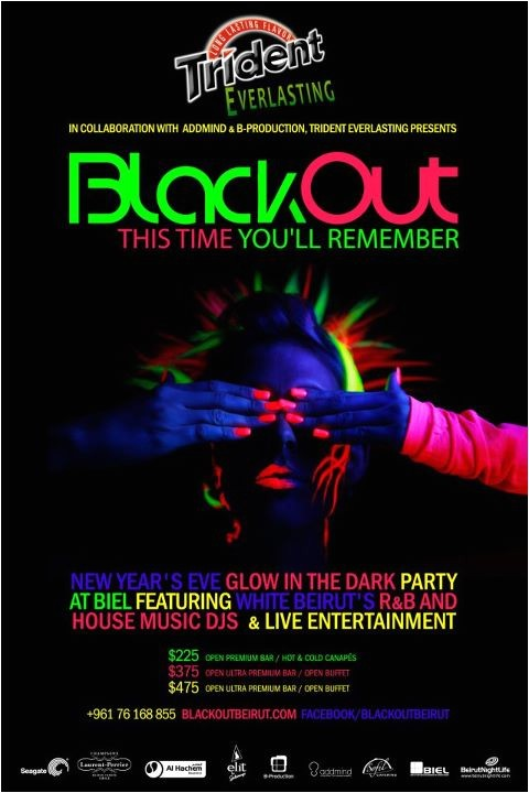 blackout years eve party