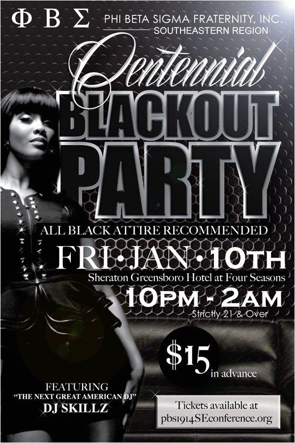 centennial blackout party registration