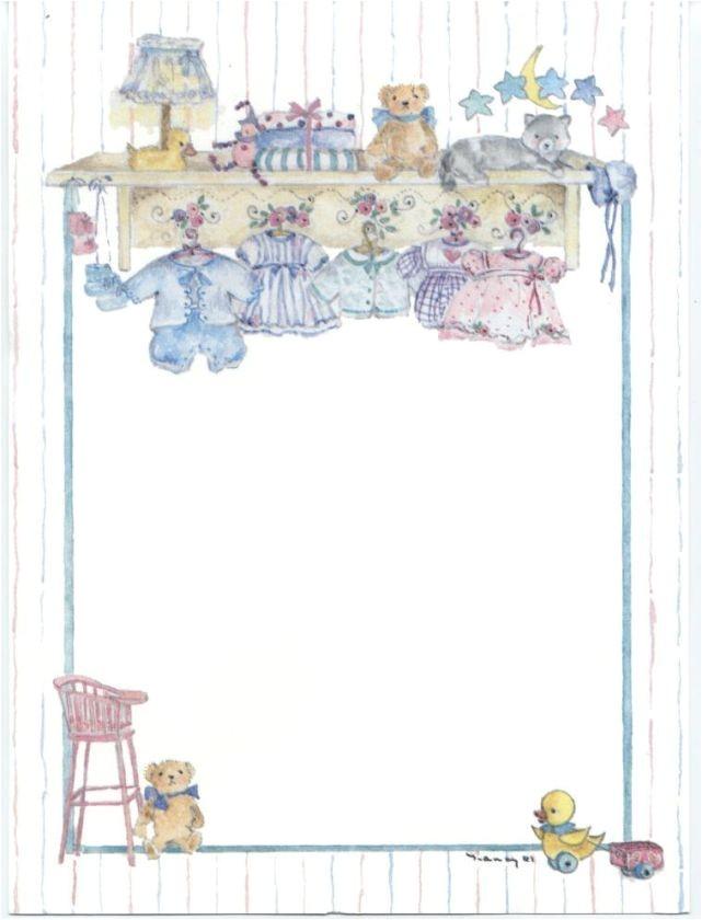 50 Twin Boy and Girl Blank Baby Shower Invitations eBay