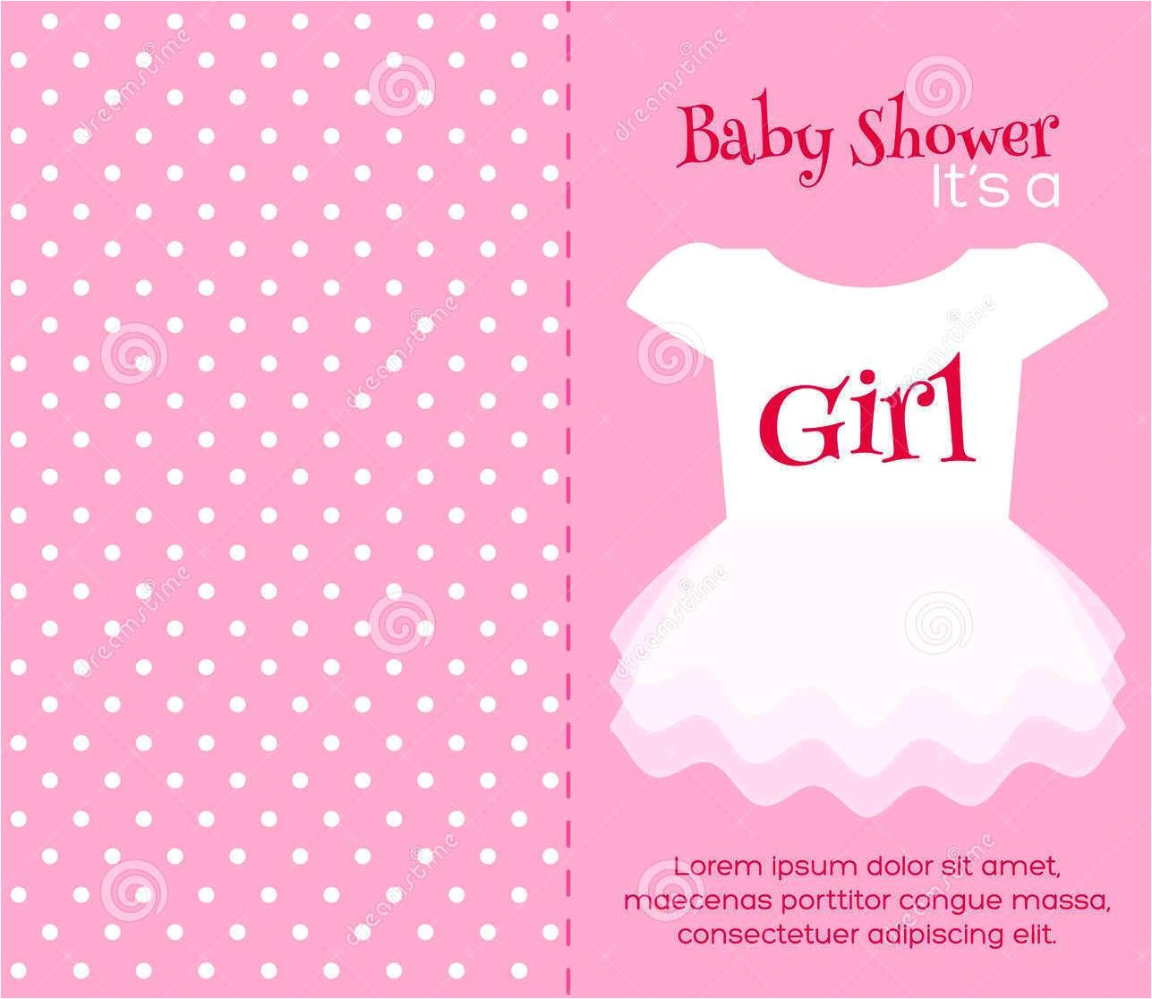 blank baby shower invitations
