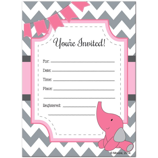 blank baby shower invitations 06