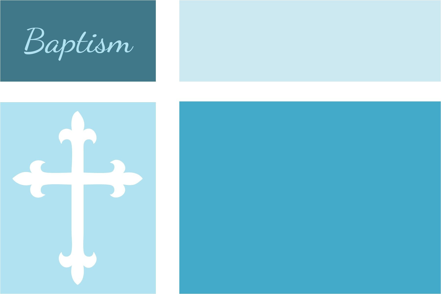 baptism invitation blank templates