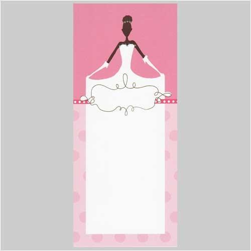 blank bridal shower invitations