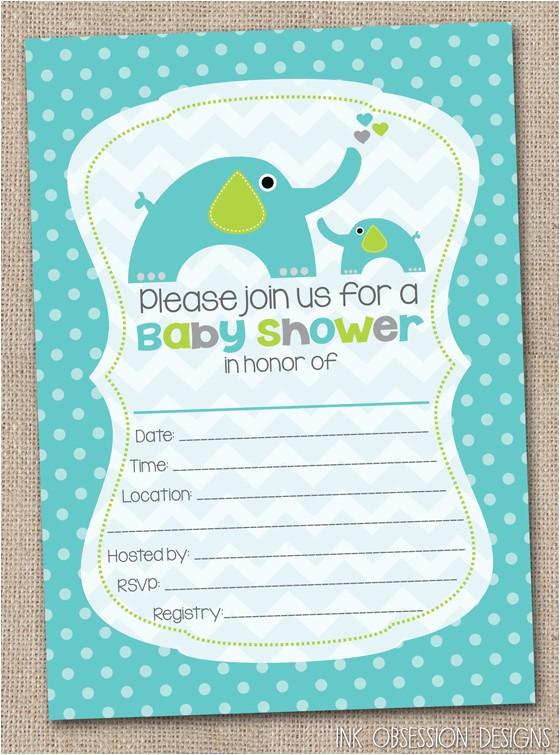 blank baby shower invitations 05