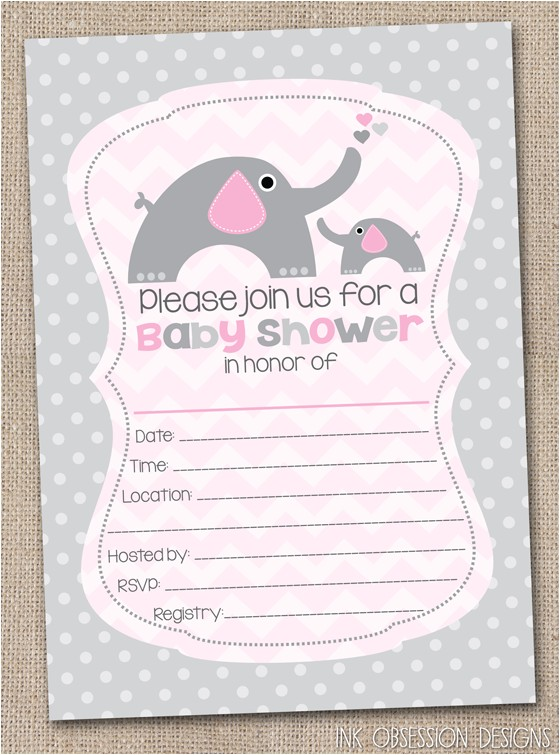 blank baby shower invitations 26
