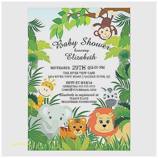 blank monkey baby shower invitations