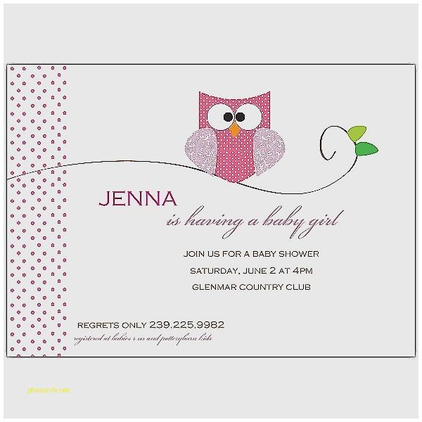 blank owl baby shower invitations