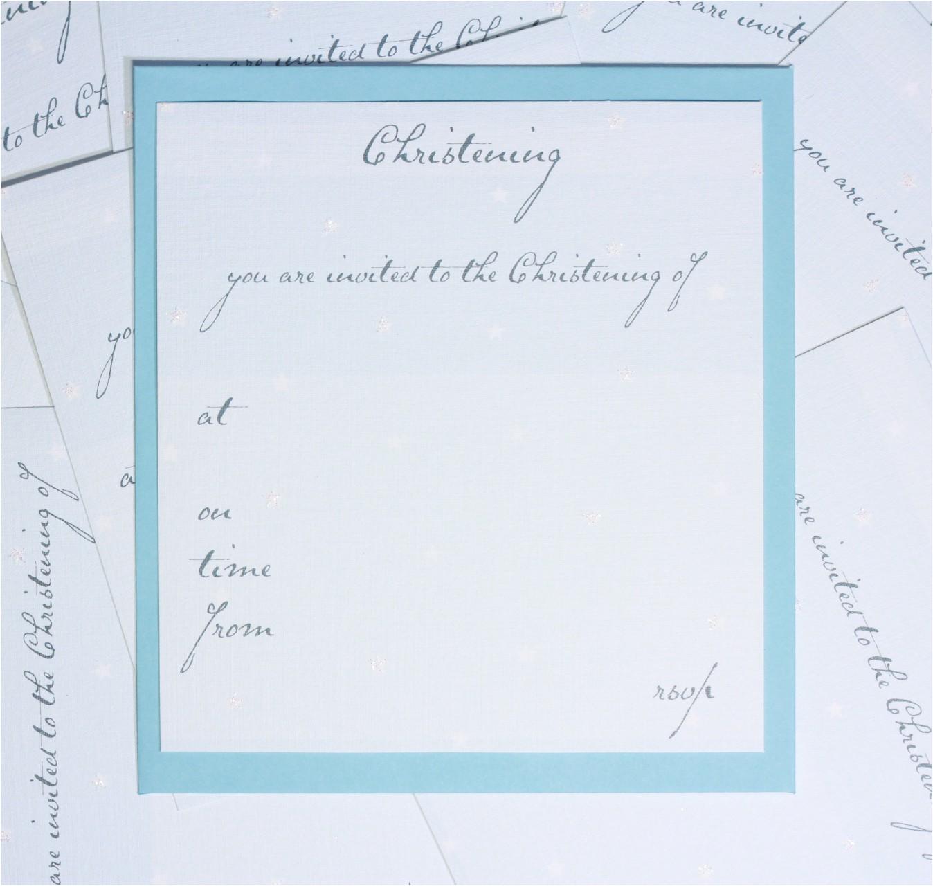 baptism invitation blank templates for boy