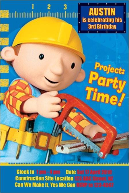 bob builder contruction party