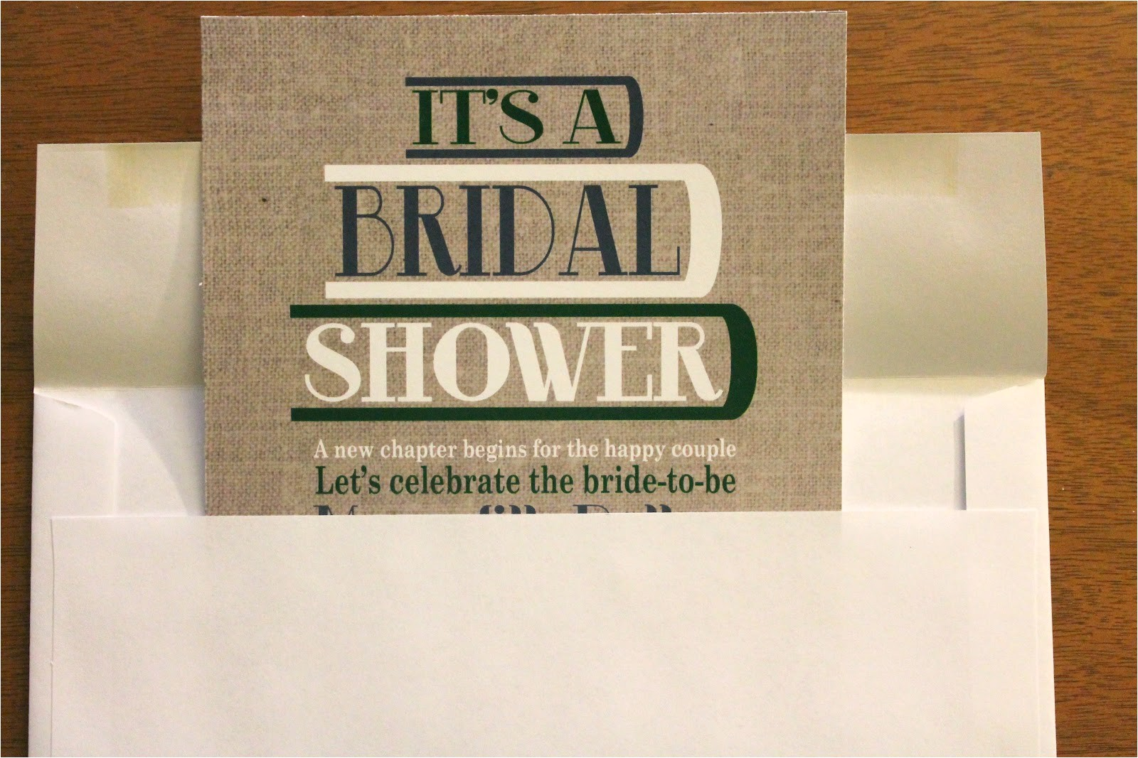 literary bridal shower diyhow to post