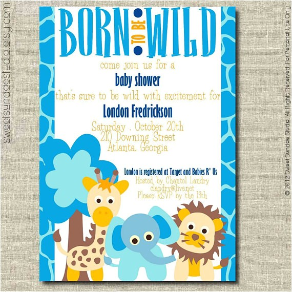 blue born to be wild jungle animals