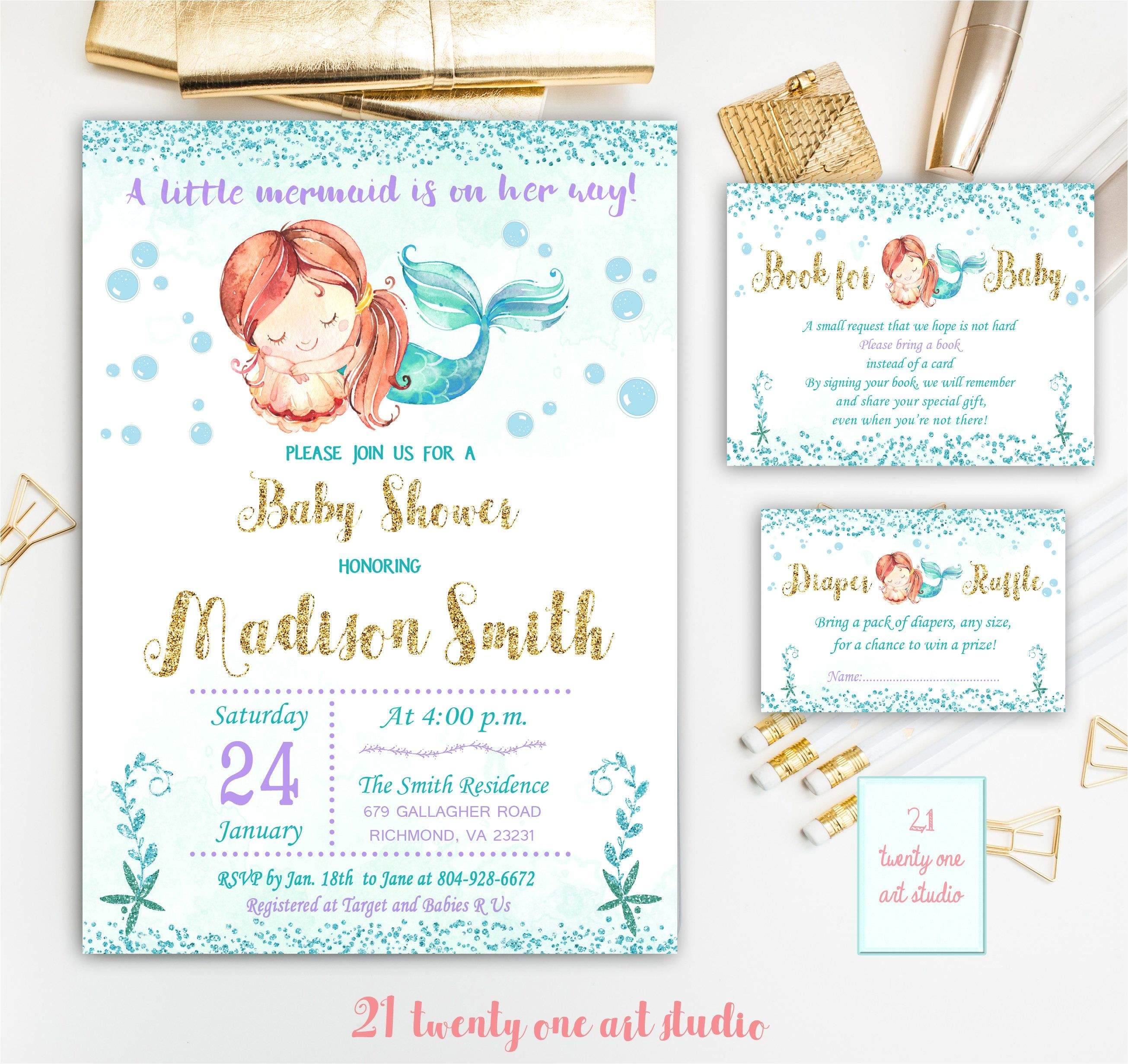 boxed baby shower invitations