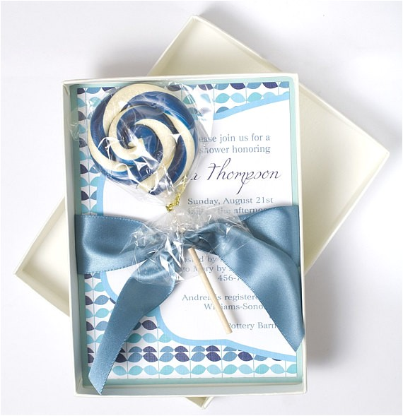 Boxed Baby Shower Invitations Pin Luxury Baby Shower Boxed Invitations Cake On Pinterest