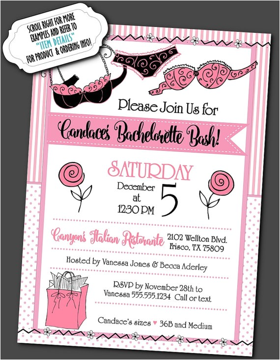 party invitations invite envelope bridal shower 3