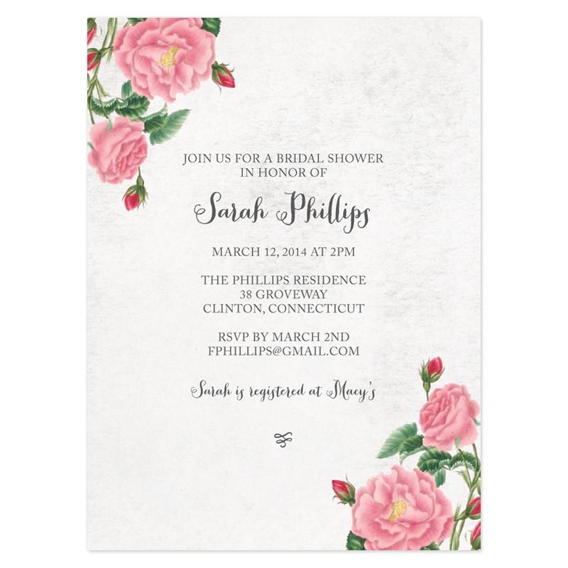free e invitations for bridal shower