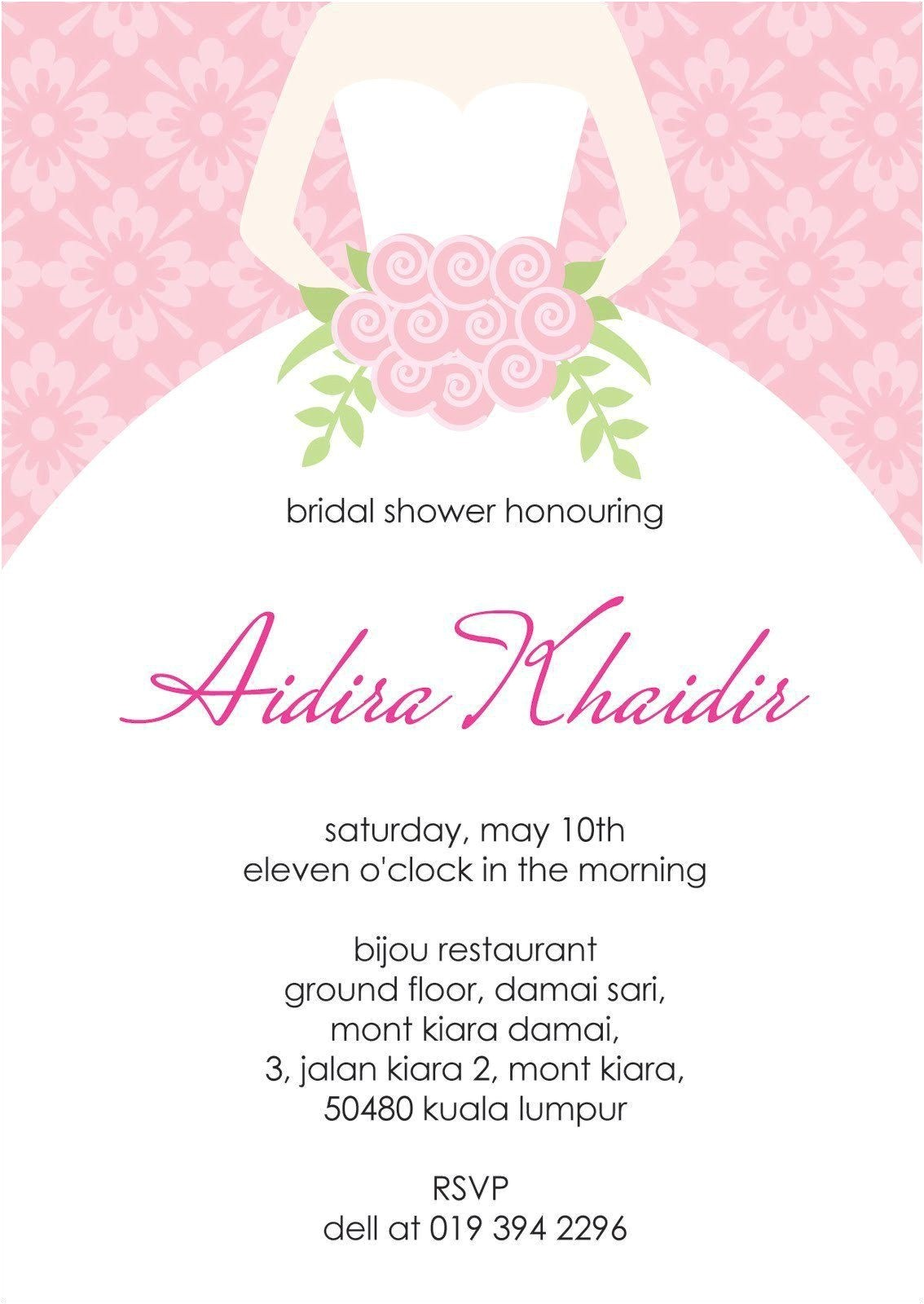 baby shower invitation cards templates inspirational bridal shower invite template chanel bridal shower invitation