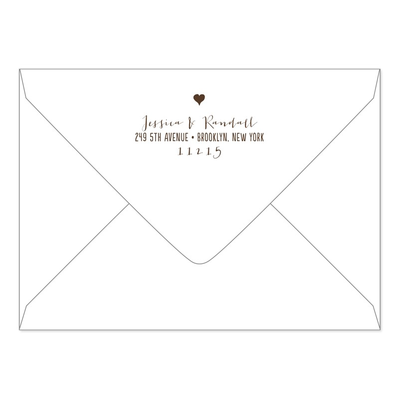 bridal shower invitation envelope addressing etiquette