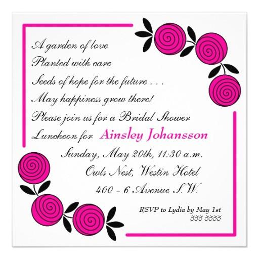 bridal shower invitations rhymes