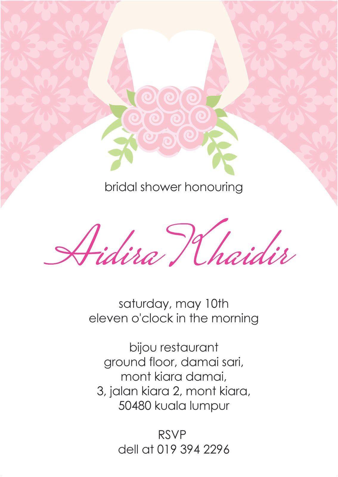 bridal shower invitation templates printable