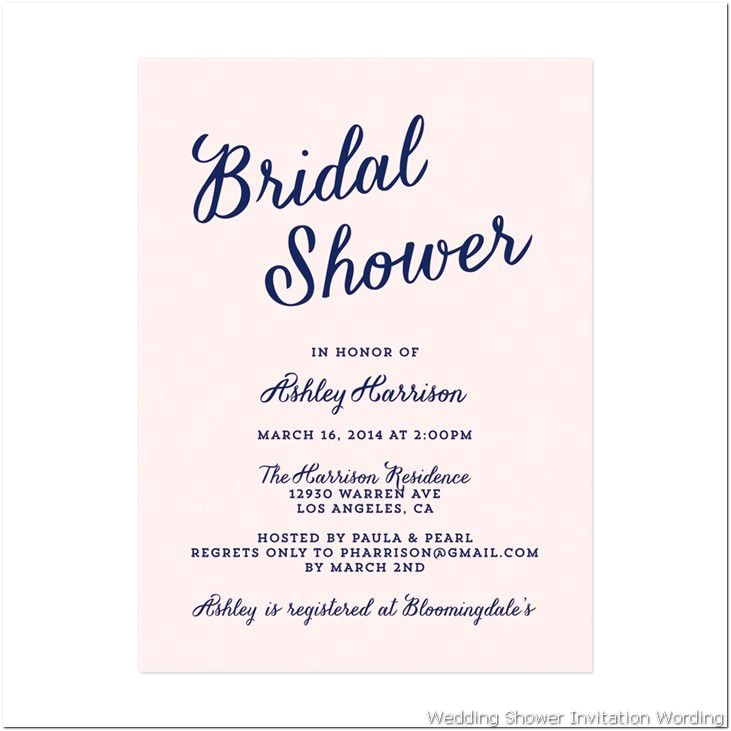 t card bridal shower wording