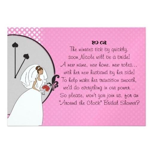 wedding shower invitation wording poem
