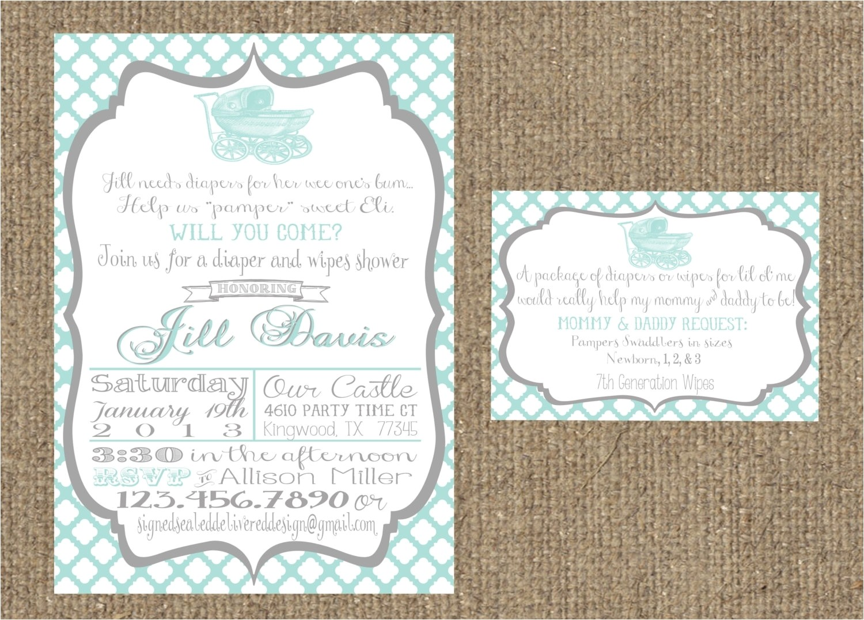bridal shower invitations tar template