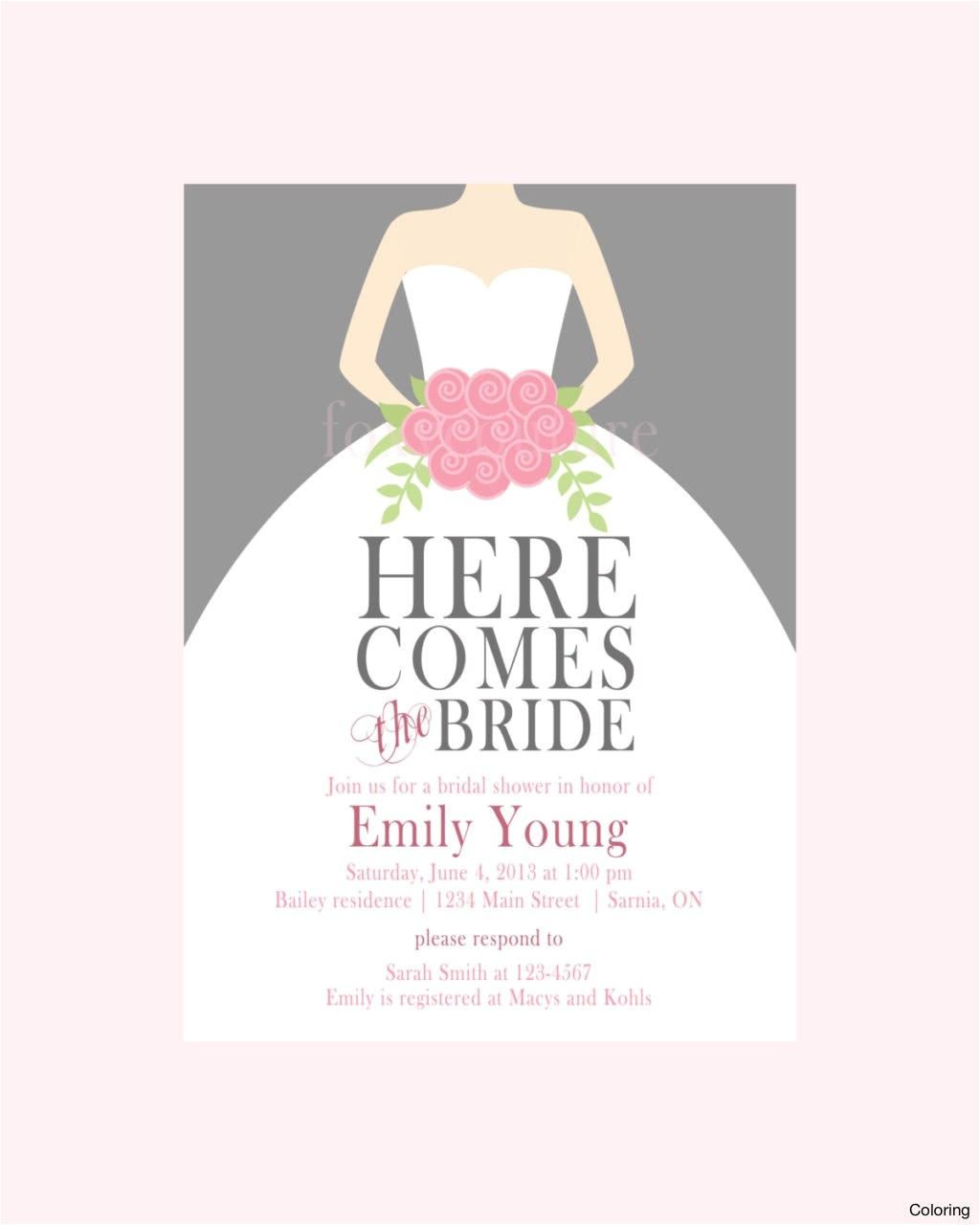 free online bridal shower invitations