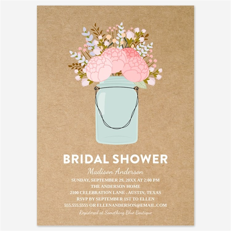 mason jar bridal shower ts
