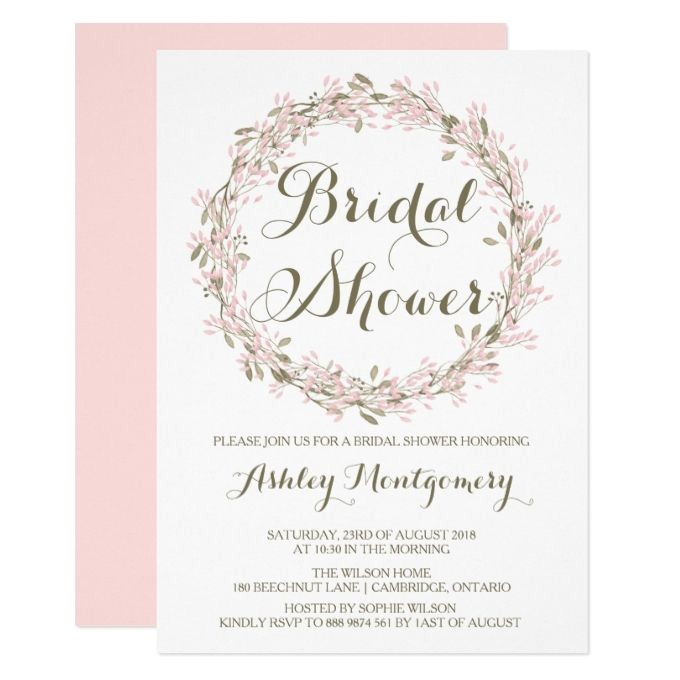 bridal shower invitations at michaels