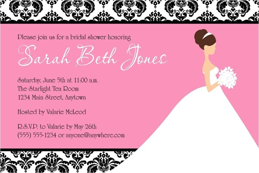 bridal shower invitation template free printable 4531