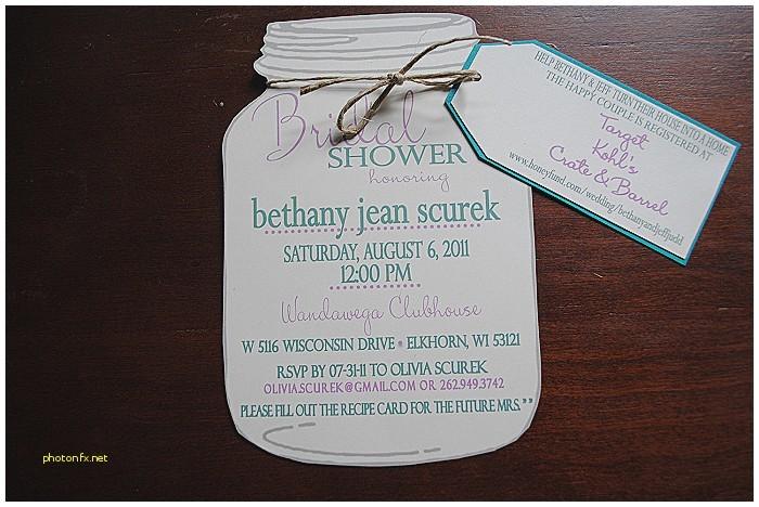 bridal shower invitation etiquette registry