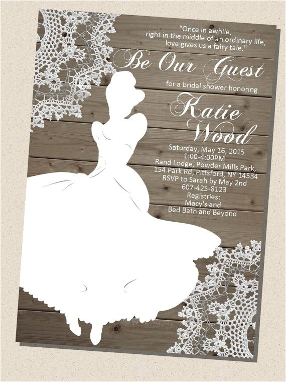 wedding shower invitations email