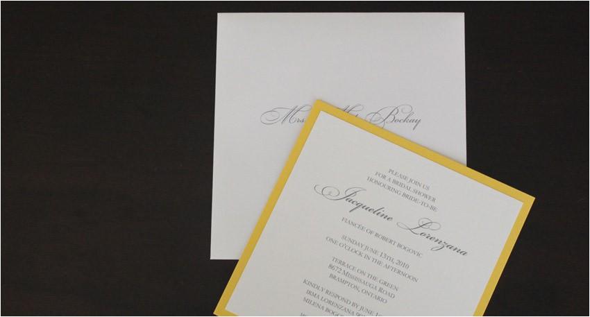 bridal shower invitations in