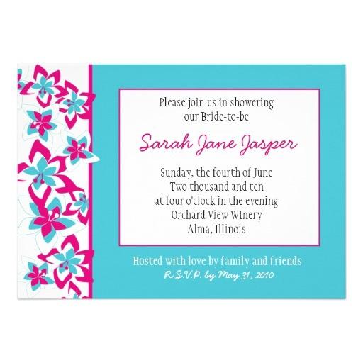 bridal shower invitations uk