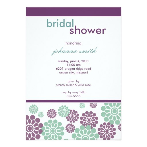 Bridal Shower Invitations Uk Bridal Shower Invitations Modern and Chic