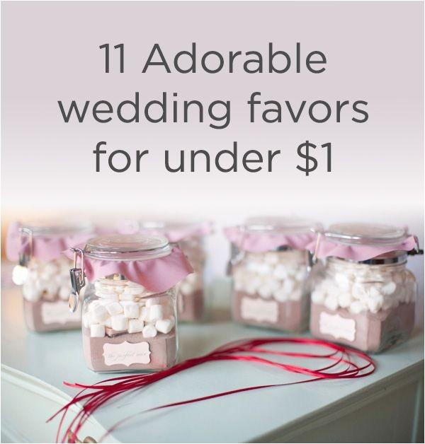 bridal shower favors under 1