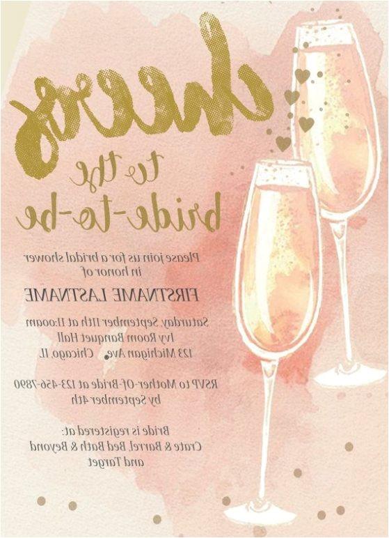 bridal shower invitations under 1