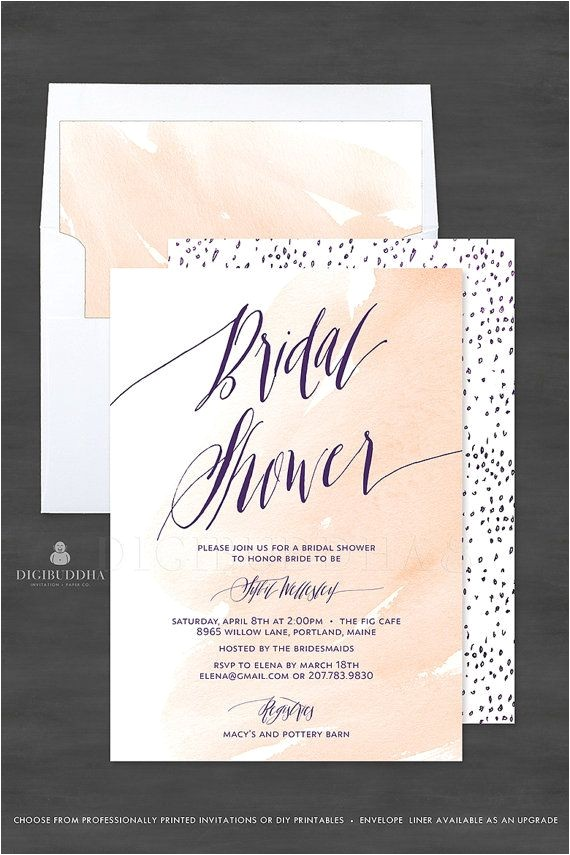 digibuddha bridal shower invitations