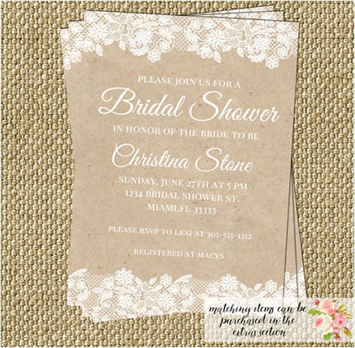 invitation wording for open house bridal shower