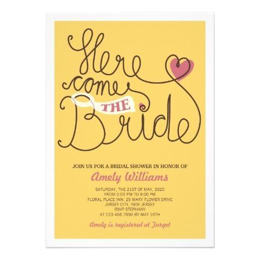 bridal shower invitation text ideas