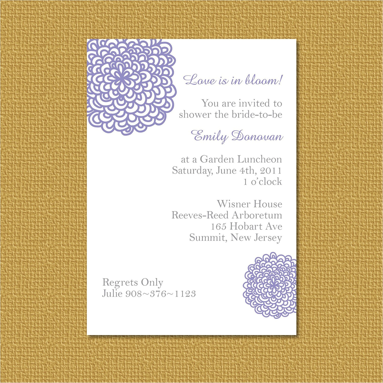 bridal shower invitation wording for monetary ts