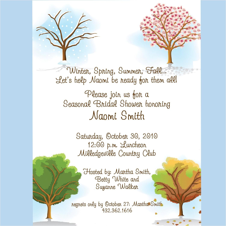 bridal shower invitations monetary