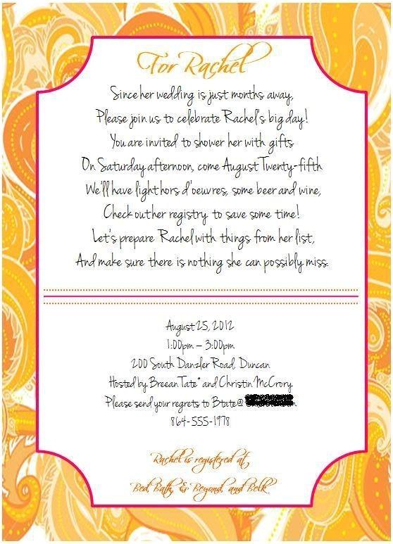 bridal shower poems pinterest